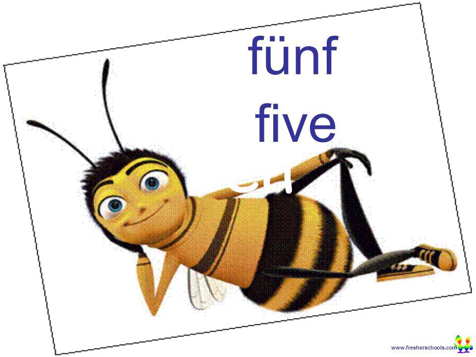www.fresherschools.com Ben fünf five