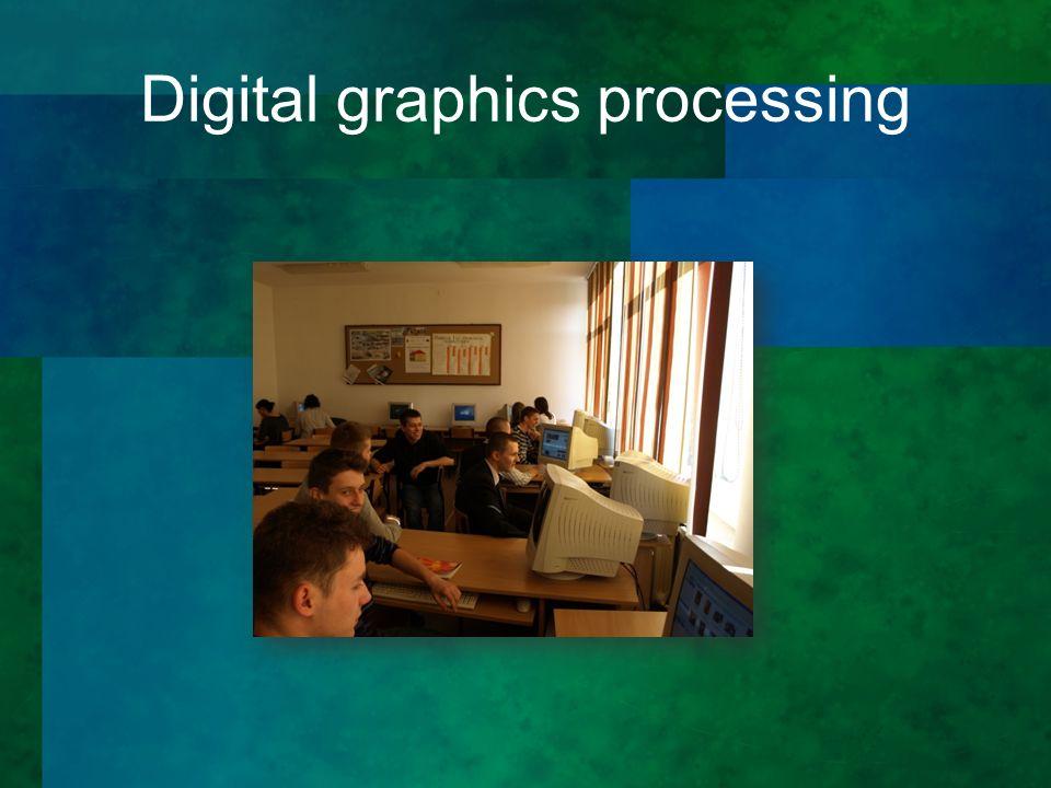 Digital graphics processing