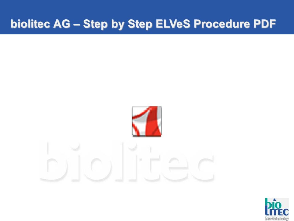 biolitec AG – Step by Step ELVeS Procedure PDF