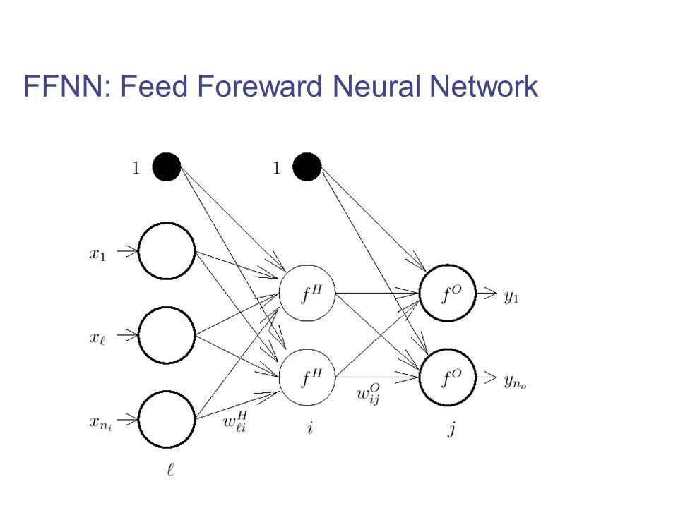 FFNN: Feed Foreward Neural Network