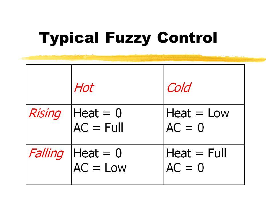 Very Fuzzy Control