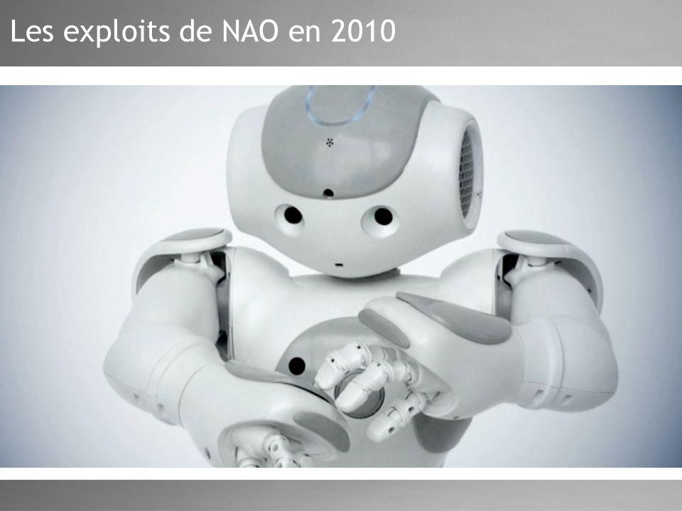 Les exploits de NAO en 2010