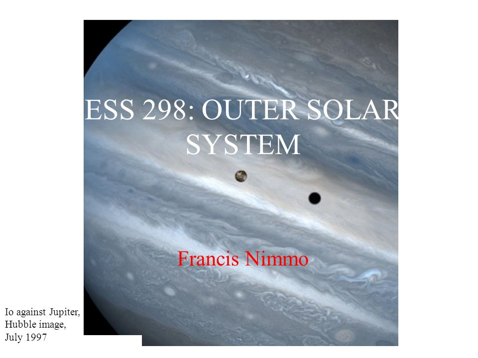 In this lecture Triton (largest moon of Neptune) Pluto/Charon Kuiper Belt Oort Cloud Extra-solar planets Where do we go from here.