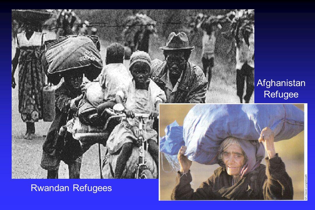 Rwandan Refugees Afghanistan Refugee