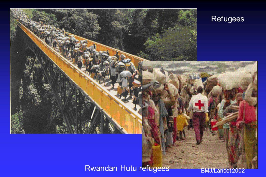 Rwandan Hutu refugees BMJ/Lancet 2002 Refugees
