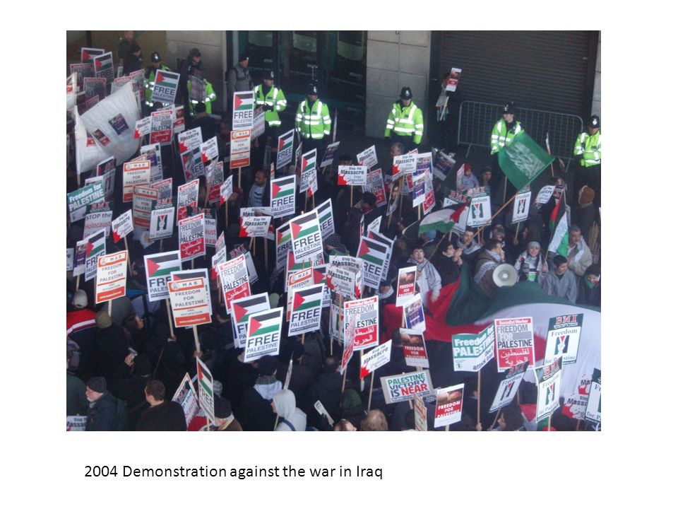2004 Demonstration against the war in Iraq