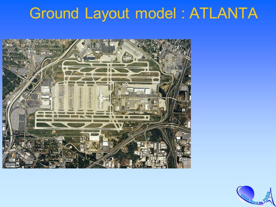Ground Layout model : ATLANTA