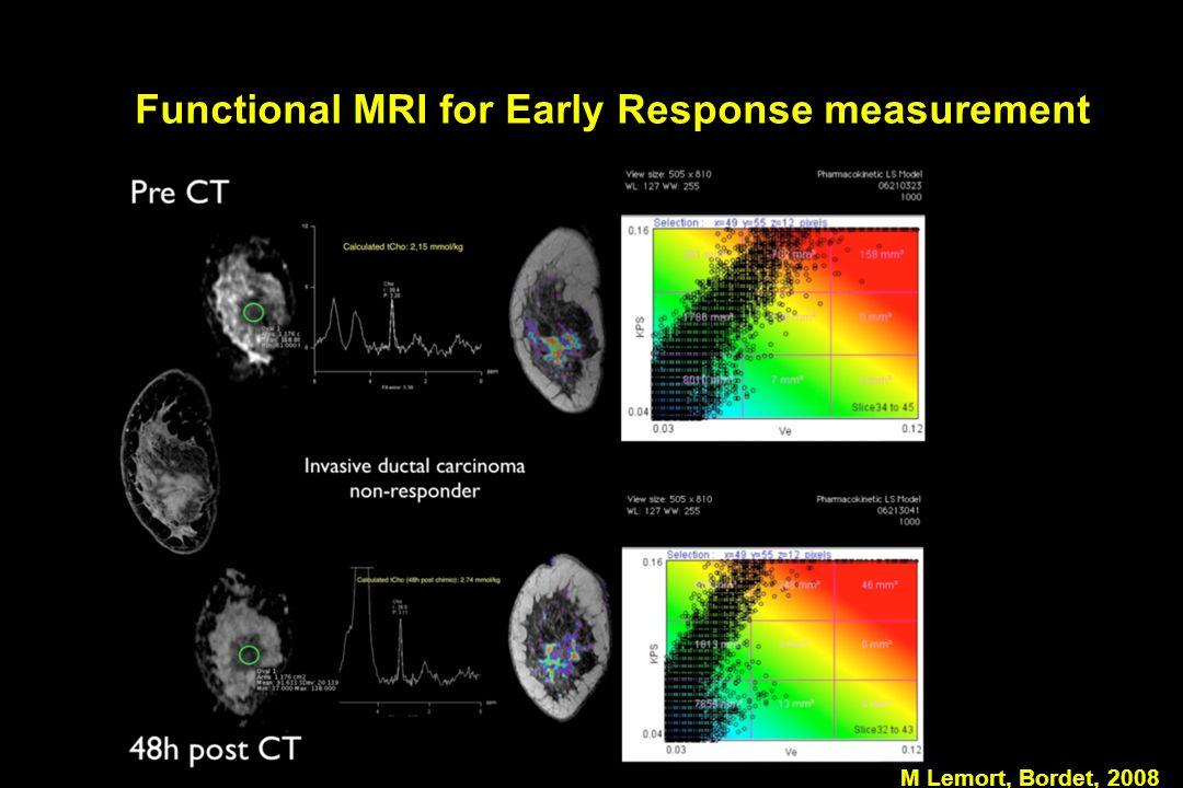 Functional MRI for Early Response measurement M Lemort, Bordet, 2008