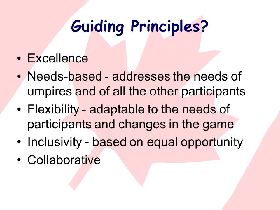 Guiding Principles.