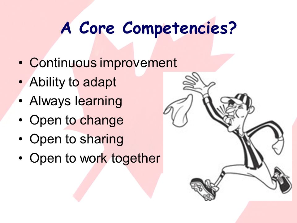 A Core Competencies.