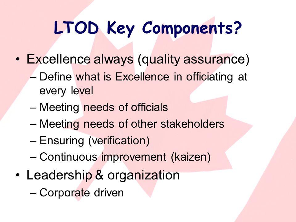 LTOD Key Components.