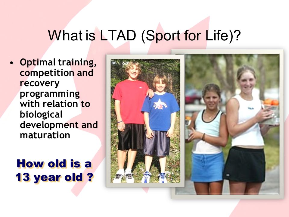 What is LTAD (Sport for Life).