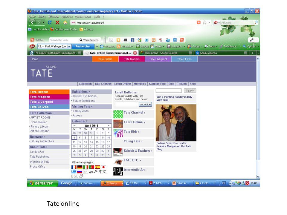 Tate online
