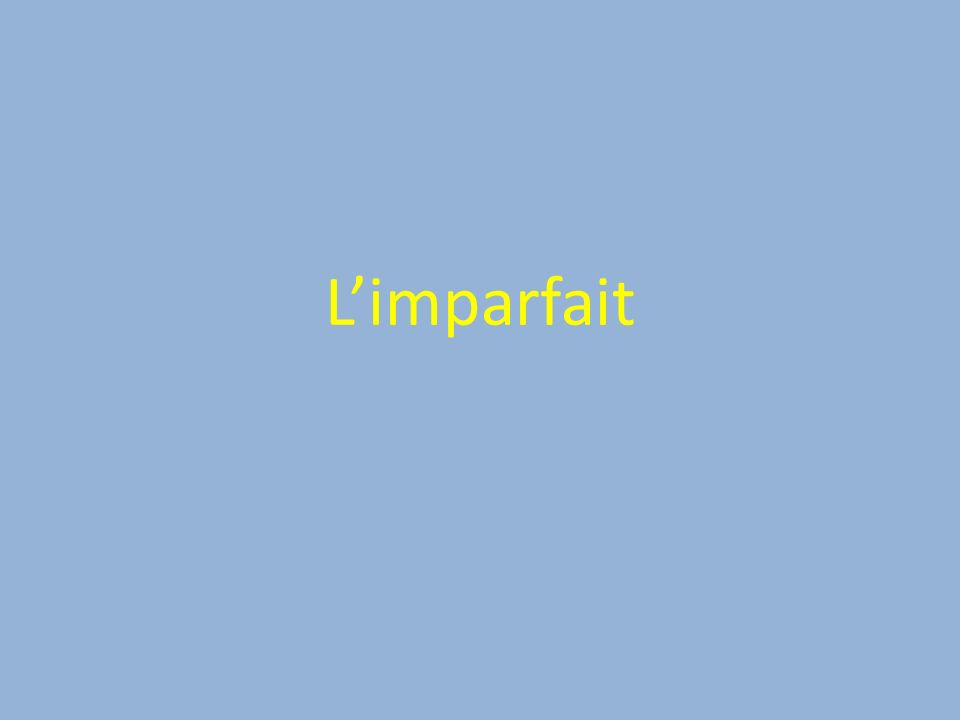 Limparfait