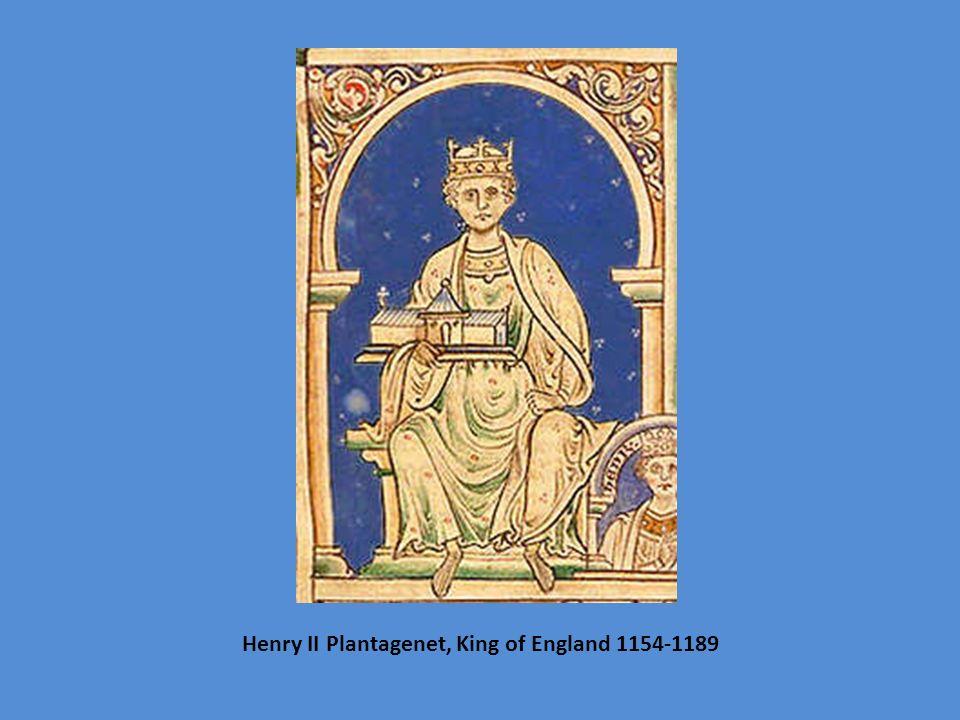 Henry II Plantagenet, King of England 1154-1189