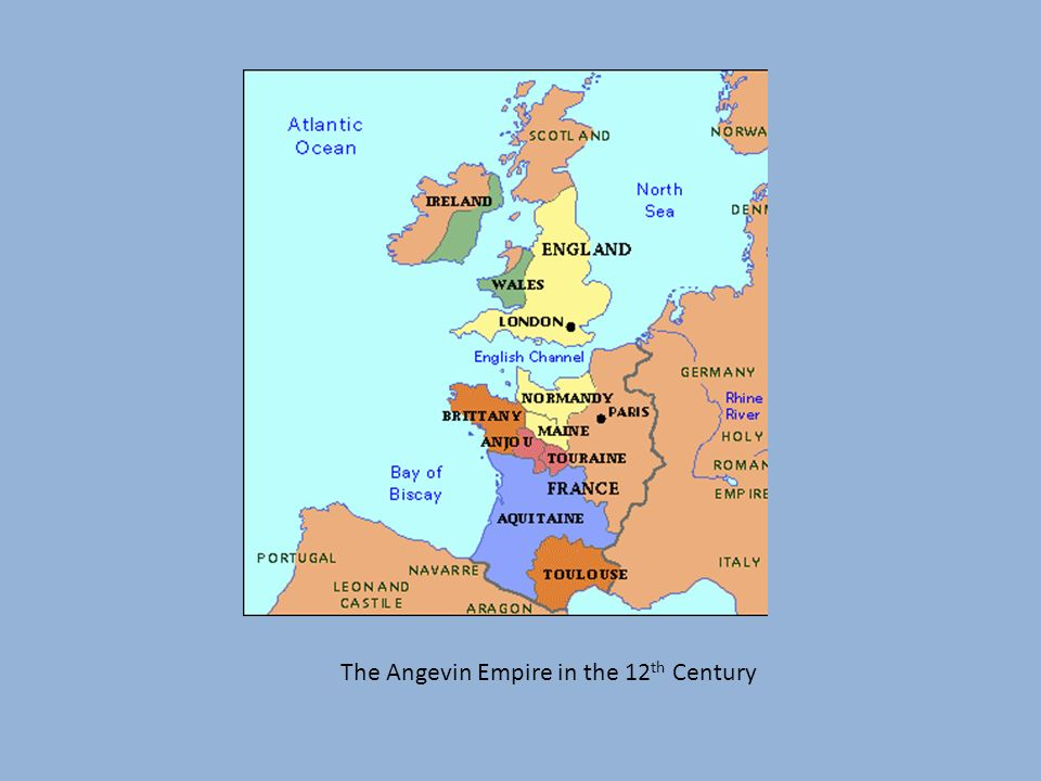 The Angevin Empire in the 12 th Century