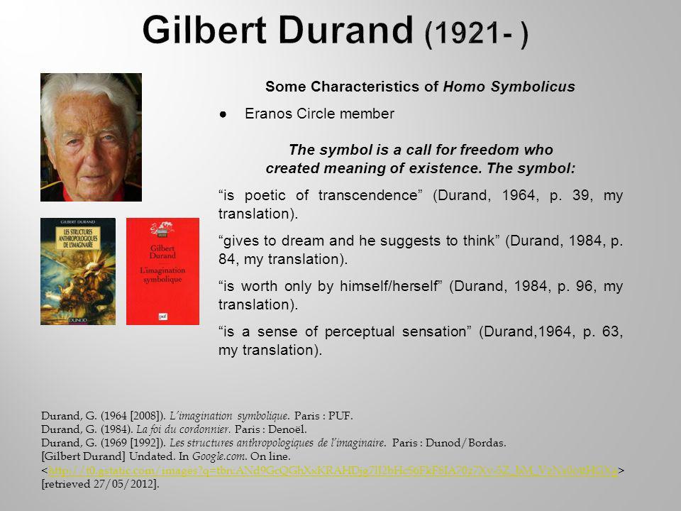 Durand, G. (1964 [2008]). Limagination symbolique.