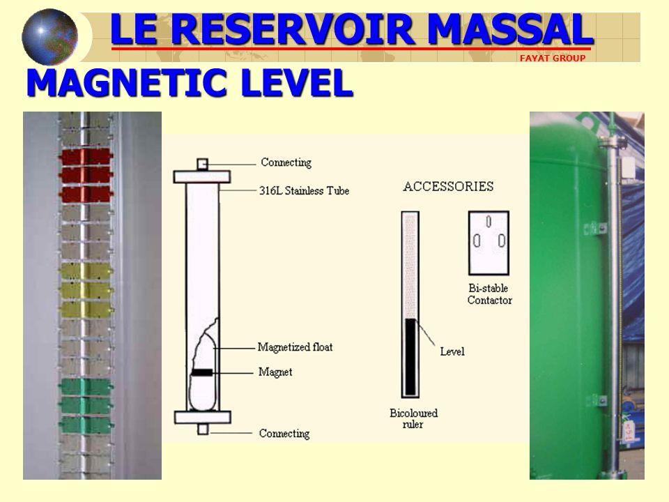MAGNETIC LEVEL LE RESERVOIR MASSAL FAYAT GROUP