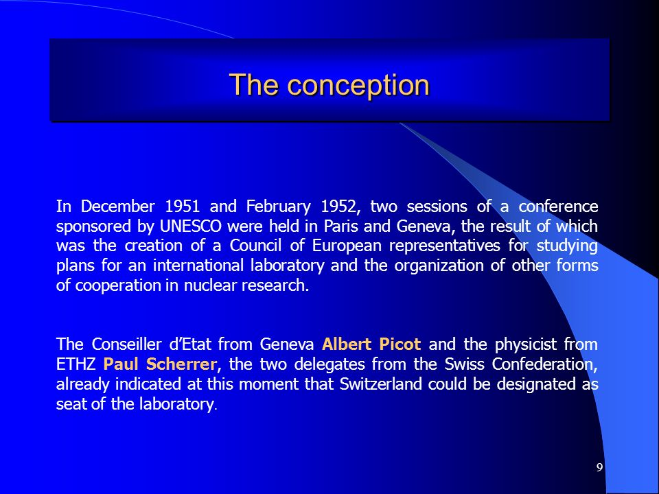 20 Let me quote from a 1954 conference of Albert Picot, a jurist, where he acknowledges the human aspects revealed by atomic energy.