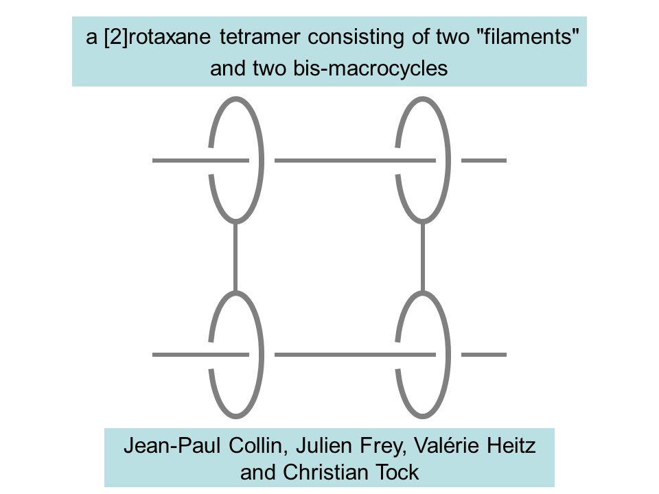 a [2]rotaxane tetramer consisting of two