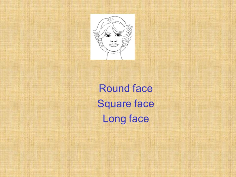 Round face Square face Long face