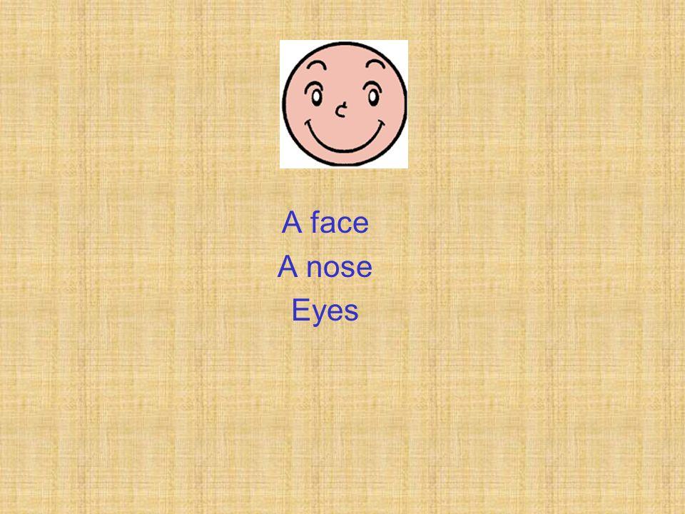 A nose Eyes