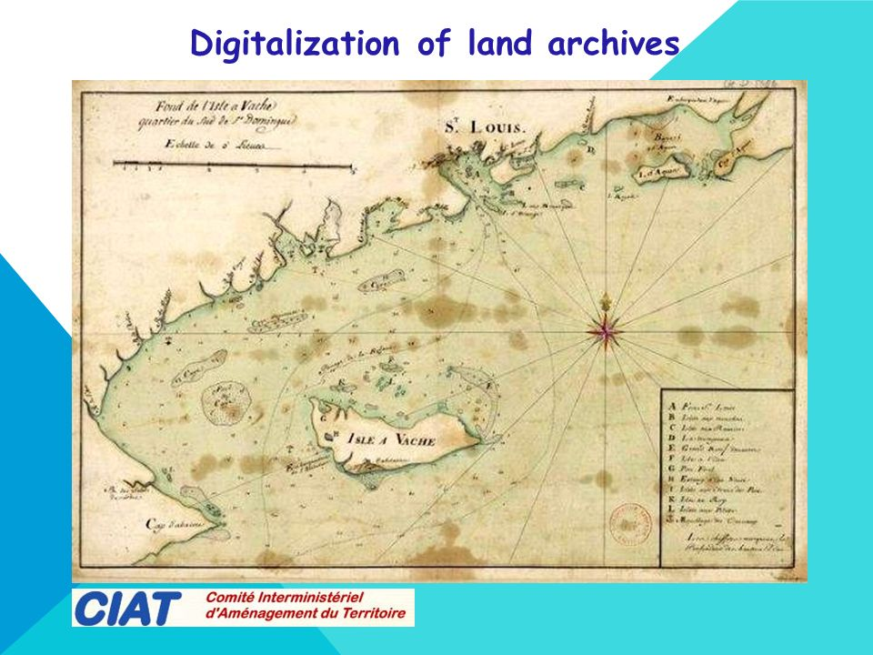 Digitalization of land archives