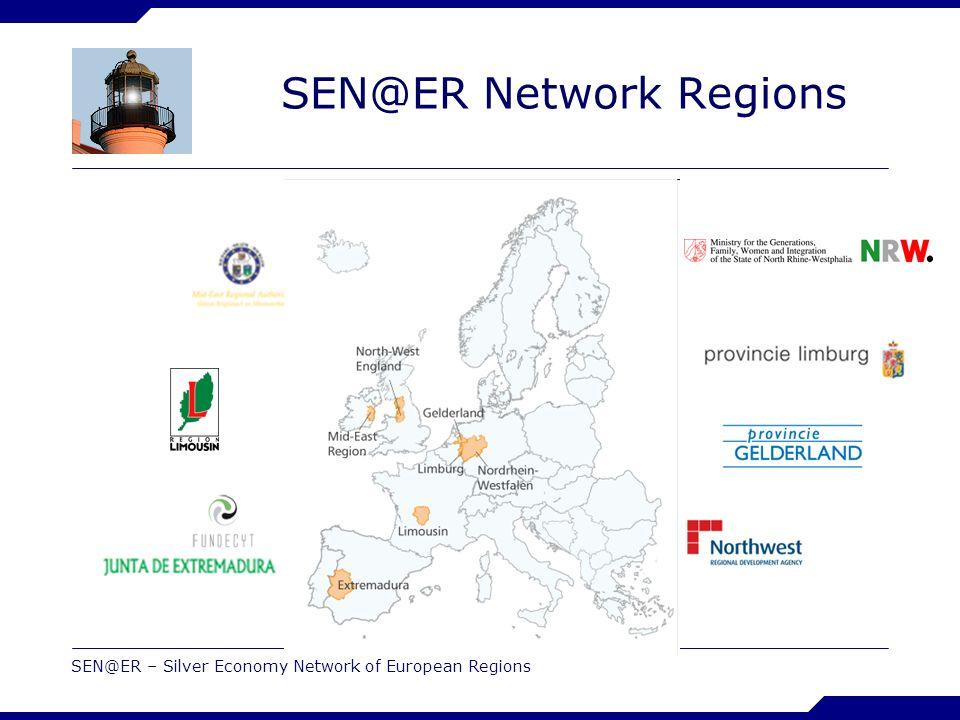 SEN@ER – Silver Economy Network of European Regions SEN@ER Network Regions
