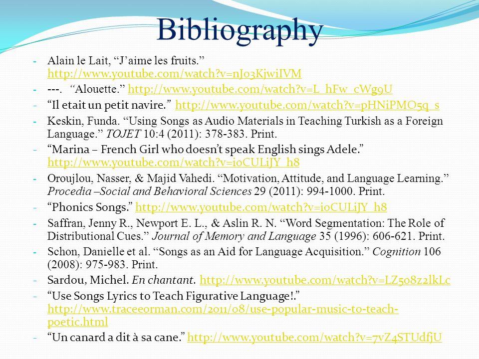 Bibliography - Alain le Lait, Jaime les fruits.
