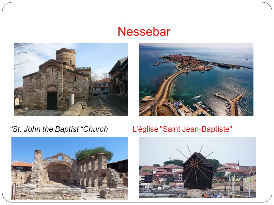 Nessebar St. John the Baptist Church Léglise