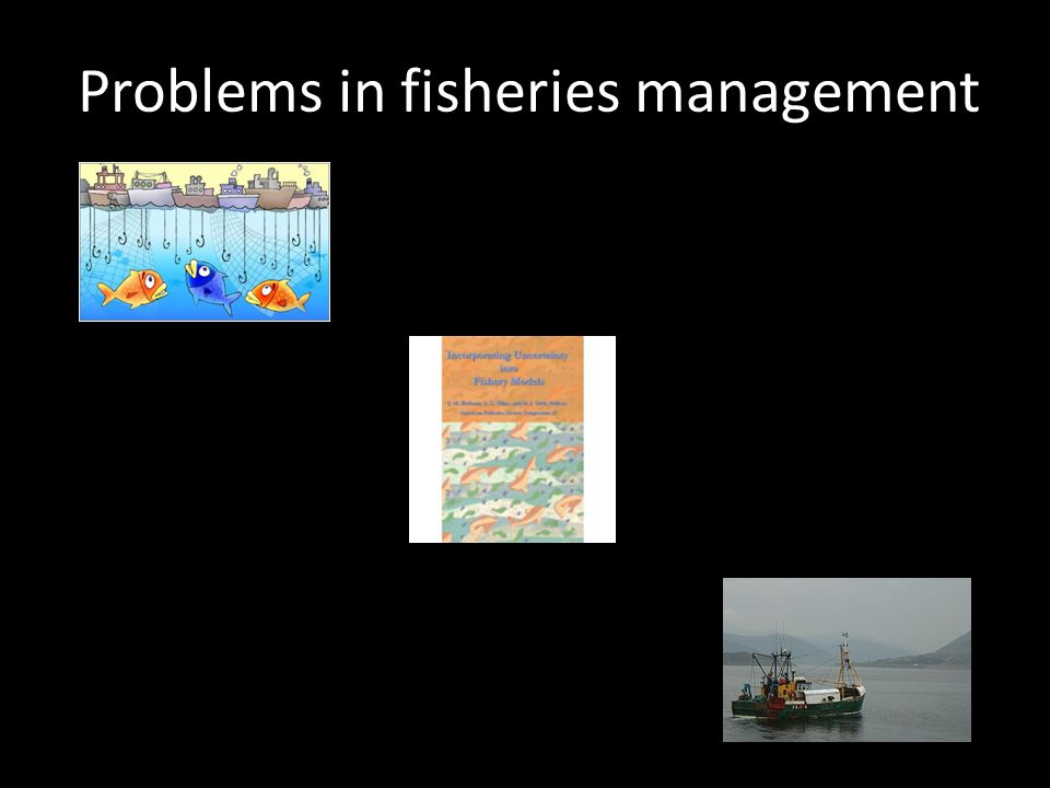 Problems in fisheries management