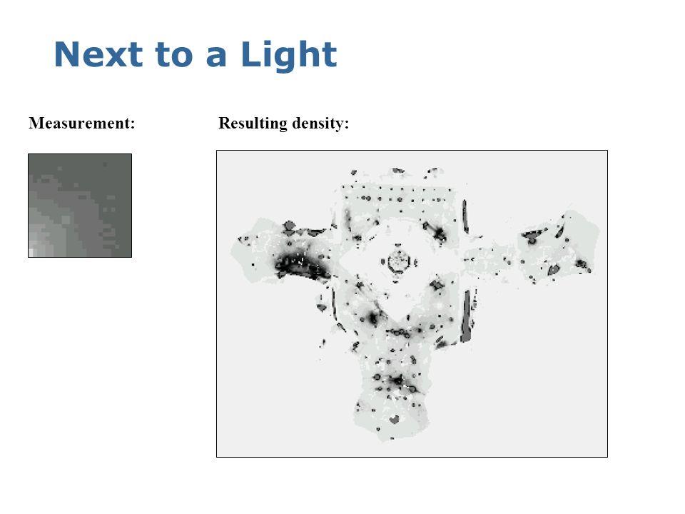 Under a Light Measurement:Resulting density: