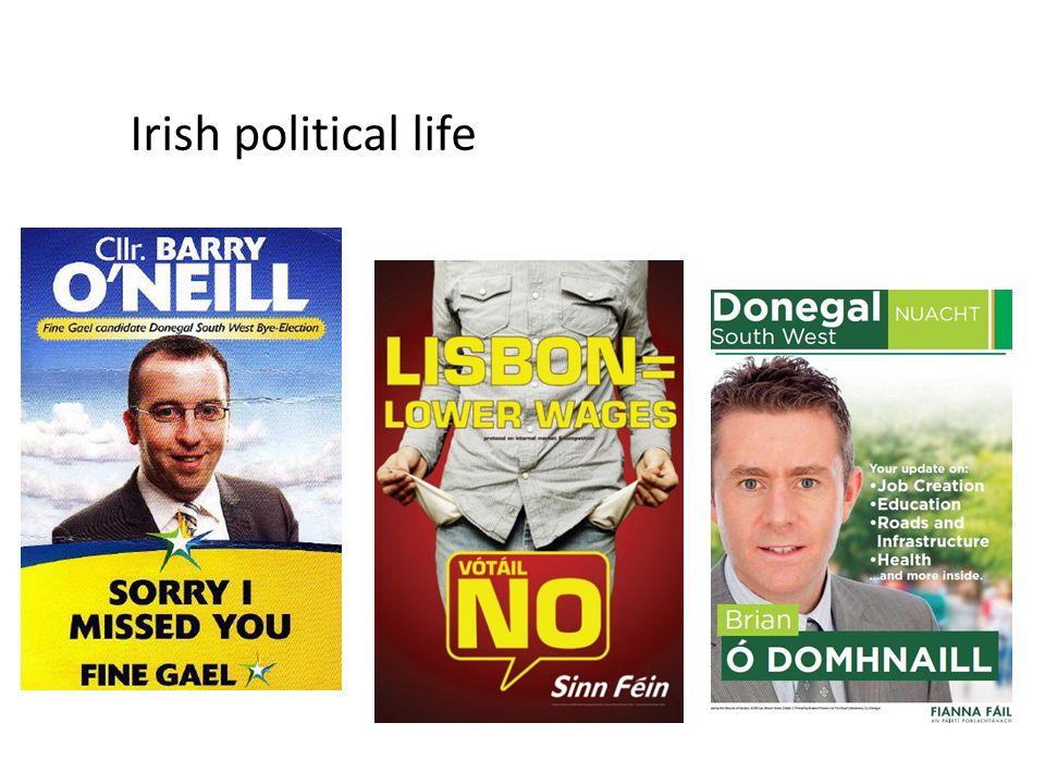 Irish political life