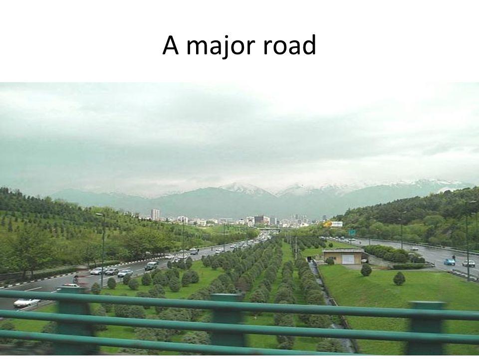 A major road