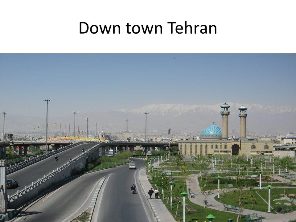 Down town Tehran