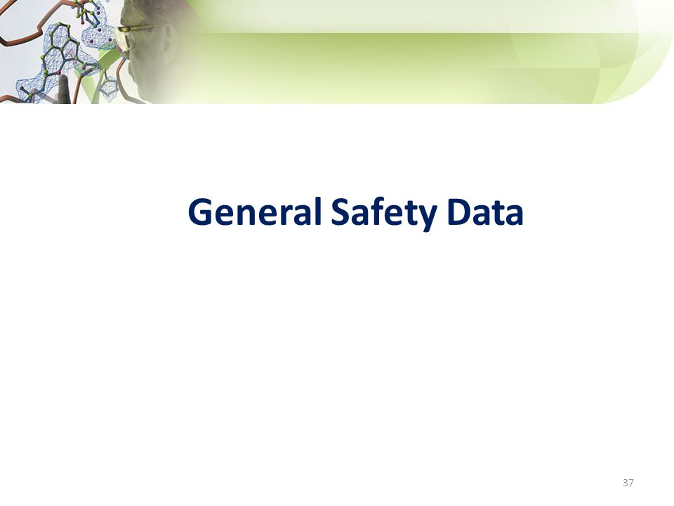 General Safety Data 37