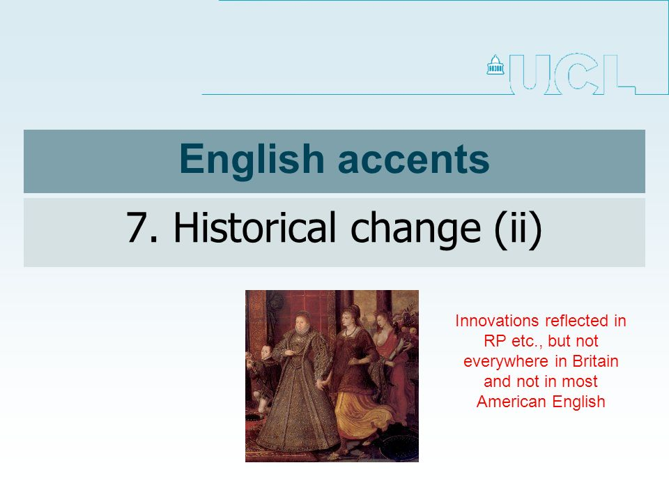 English accents 7.