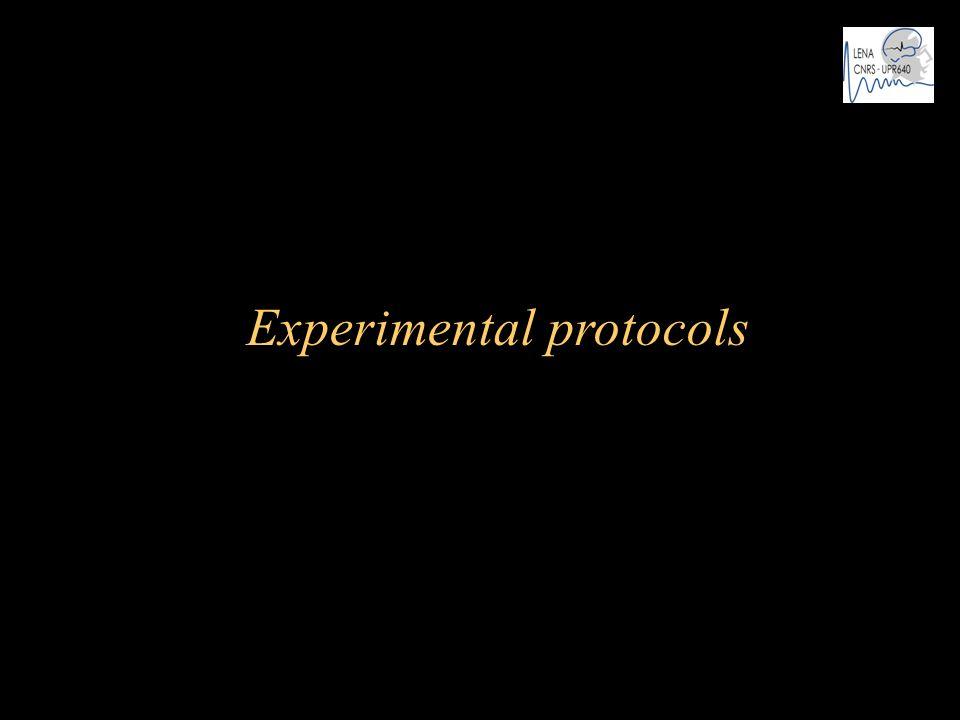 Experimental protocols
