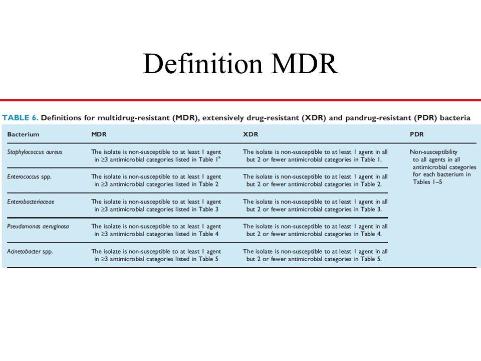 Definition MDR