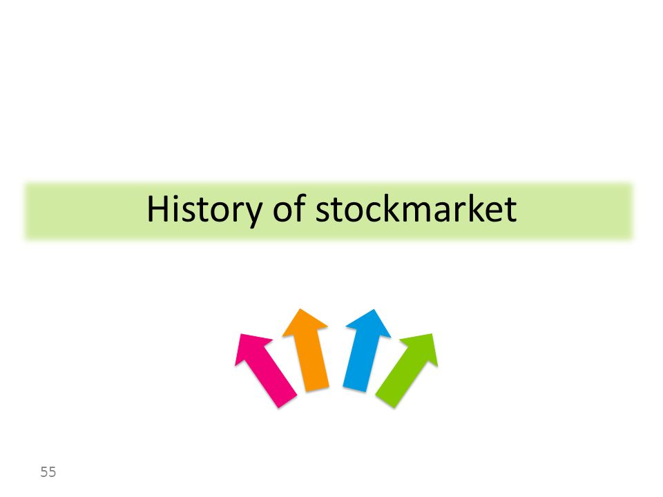History of stockmarket 55