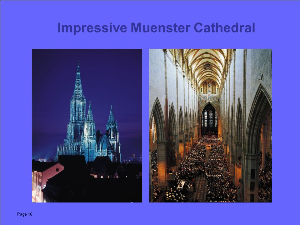 Page 16 Impressive Muenster Cathedral