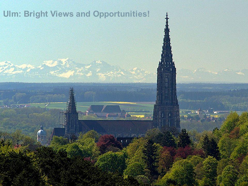 Bachelor-/Masterstudiengang Wirtschaftswissenschaften Ulm: Bright Views and Opportunities!