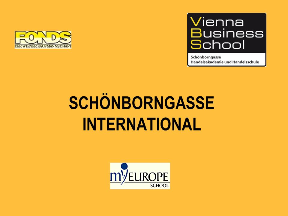SCHÖNBORNGASSE INTERNATIONAL