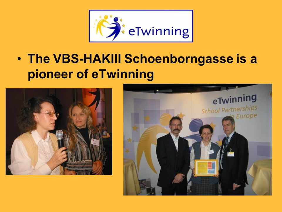 The VBS-HAKIII Schoenborngasse is a pioneer of eTwinning