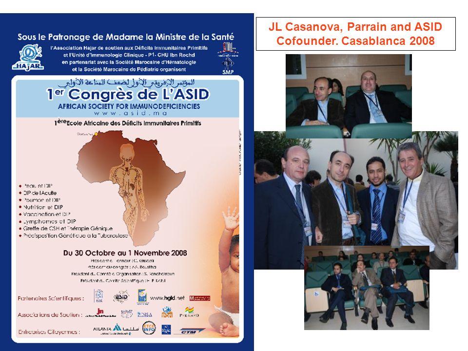 JL Casanova, Parrain and ASID Cofounder. Casablanca 2008