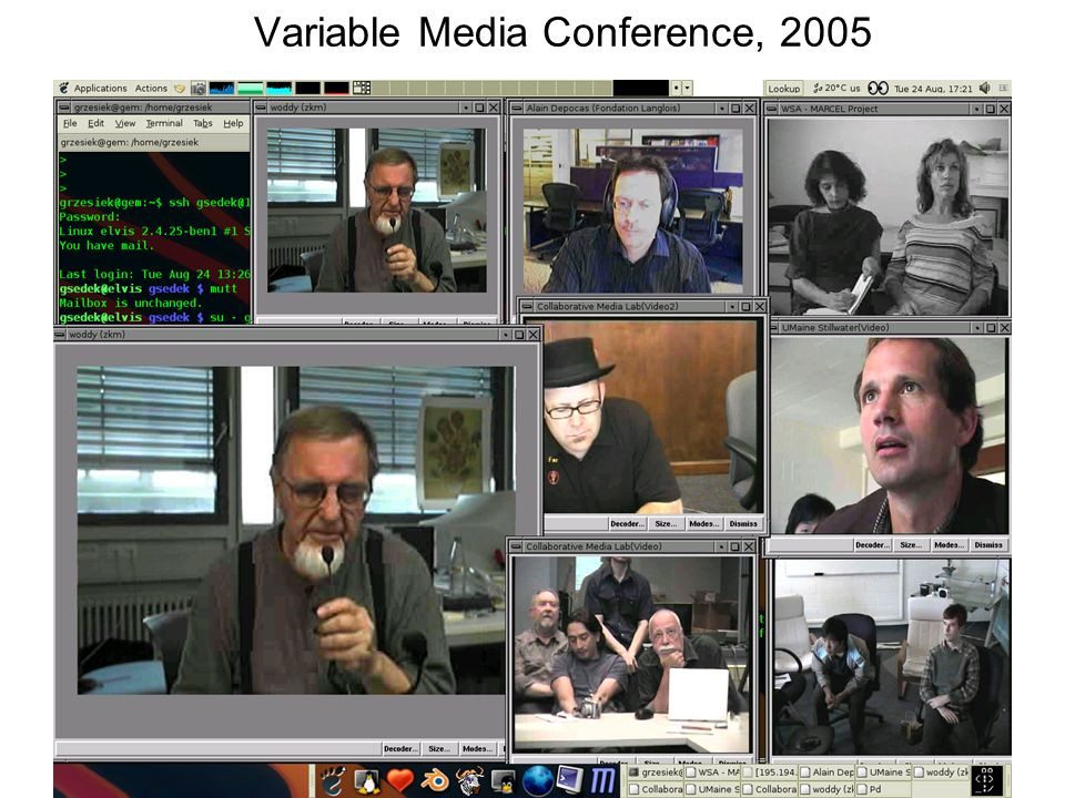 Variable Media Conference, 2005