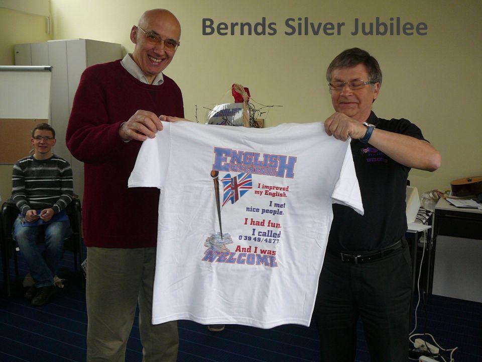 Bernds Silver Jubilee