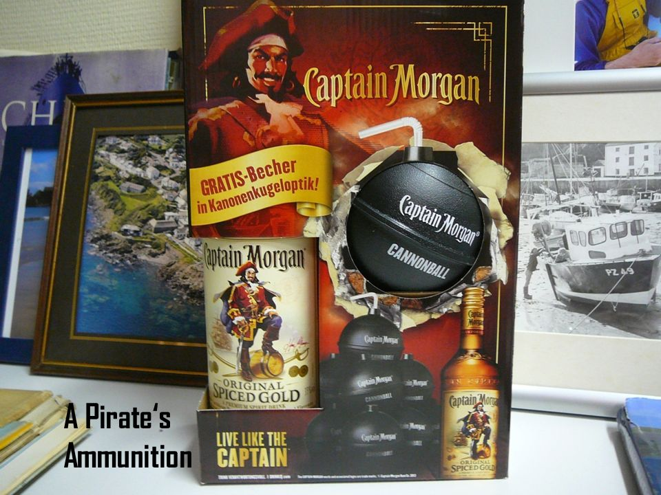 A Pirates Ammunition