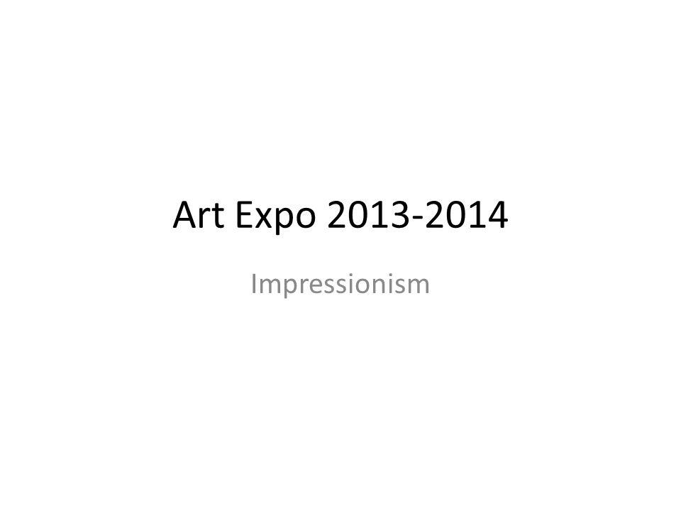 Art Expo 2013-2014 Impressionism