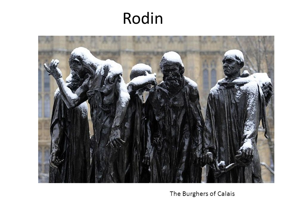 Rodin The Burghers of Calais